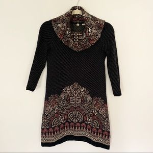 Anthropologie | Moth Imperial Cowl Tunic Sweater